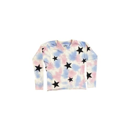 T2LOVE NDP STAR CREW PULLOVER - KIDS CURATED APPAREL
