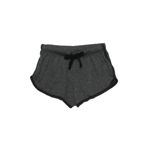 T2 LOVE CHARCOAL RUNNING SHORTS - KIDS CURATED APPAREL