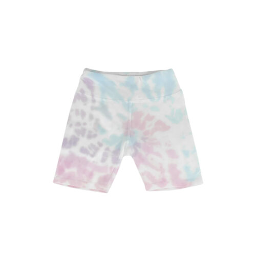 TINY WHALES SUNSET BIKE SHORTS - KIDS CURATED APPAREL