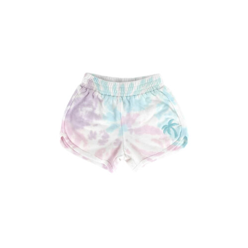 TINY WHALES SUNSET DOLPHIN SHORTS - KIDS CURATED APPAREL