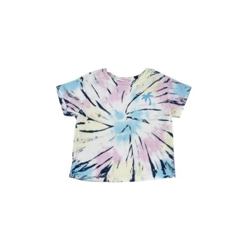 TINY WHALES SUMMER NIGHTS BOXY TEE - KIDS CURATED APPAREL