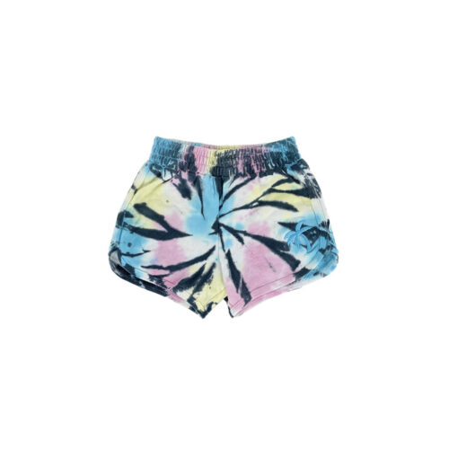 TINY WHALES SUMMER NIGHTS DOLPHIN SHORTS - KIDS CURATED APPAREL